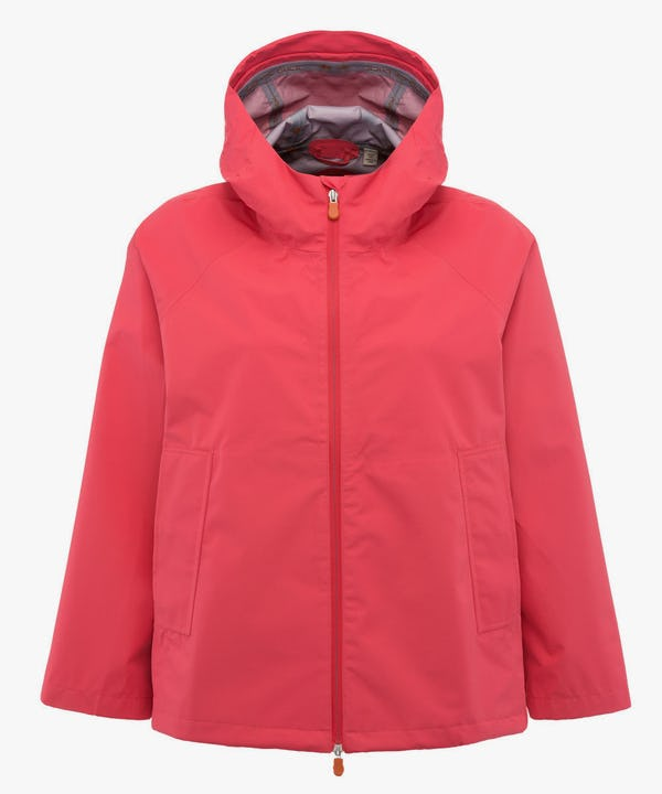 Women's Hooded Jacket in Paradise Red