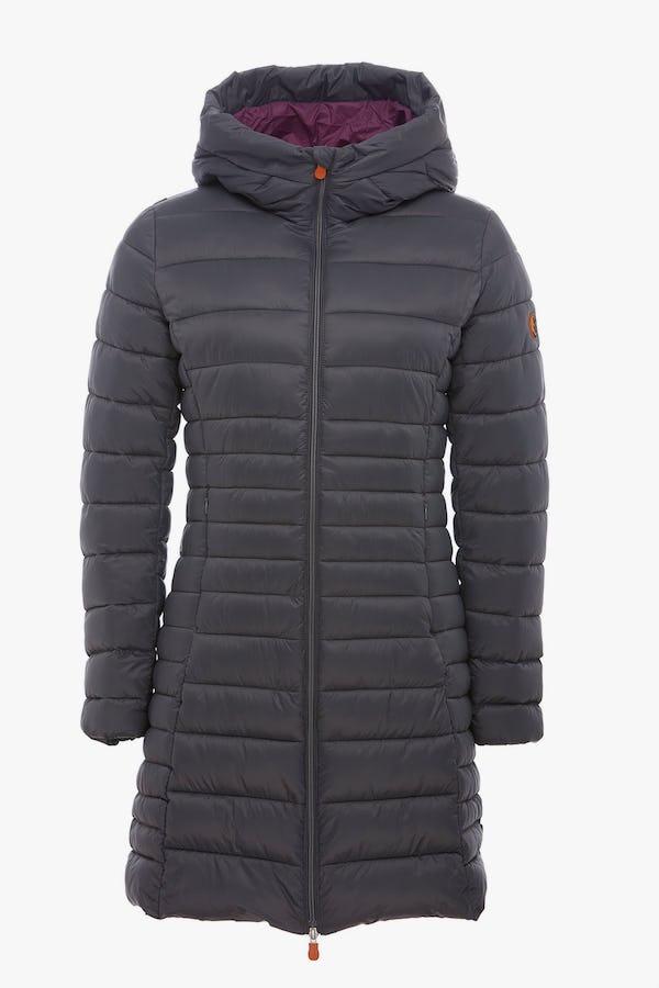 Women's Coat in Charcoal Grey