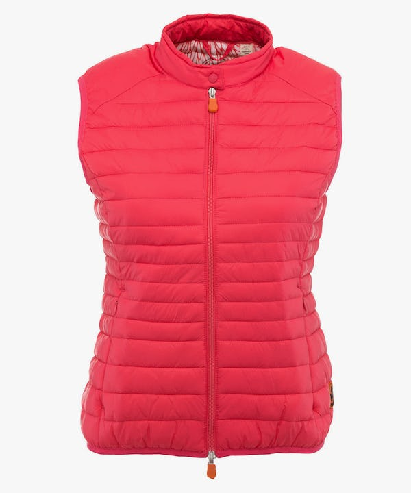 Women's Vest in Paradise Red