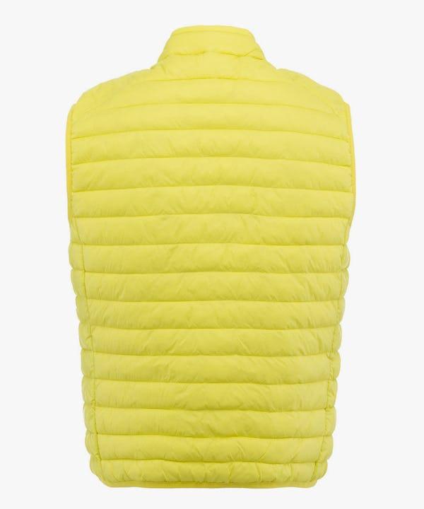 Men's Vest in Acid Yellow