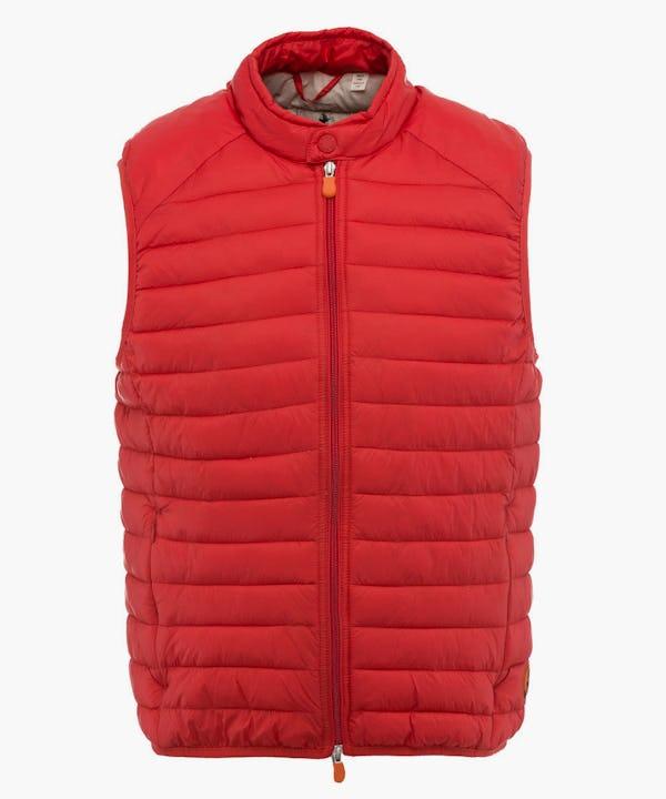 Men's Vest in Love Red