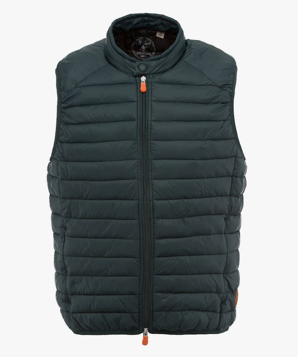 Men's Vest in Deep Green
