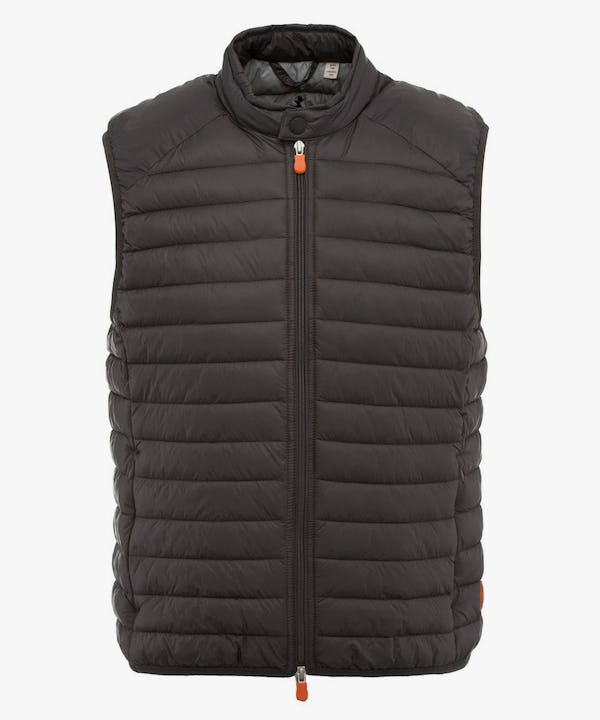 Men's Vest in Iron Grey
