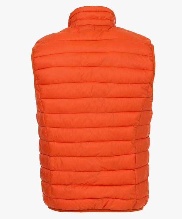 Men's Vest in Burnt Ochre