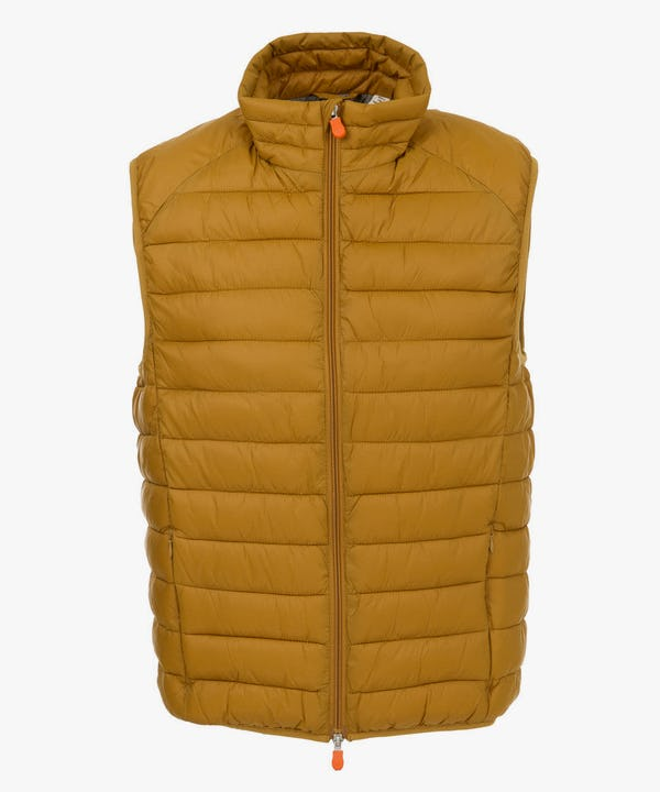 Men's Vest in Honey Brown
