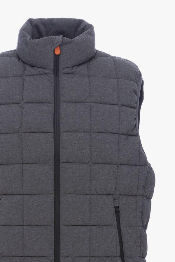 Men's Vest in Opal Grey Melange