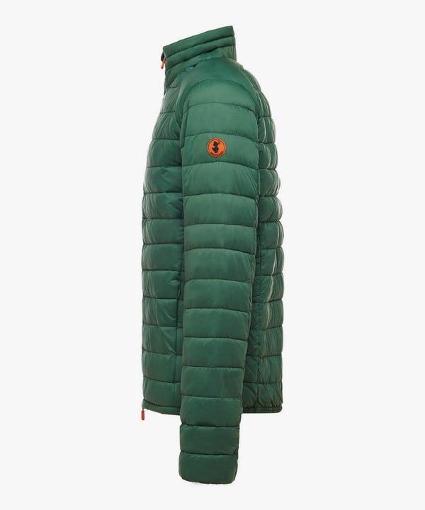 Men's Lightweight Puffer Jacket in Jungle Green