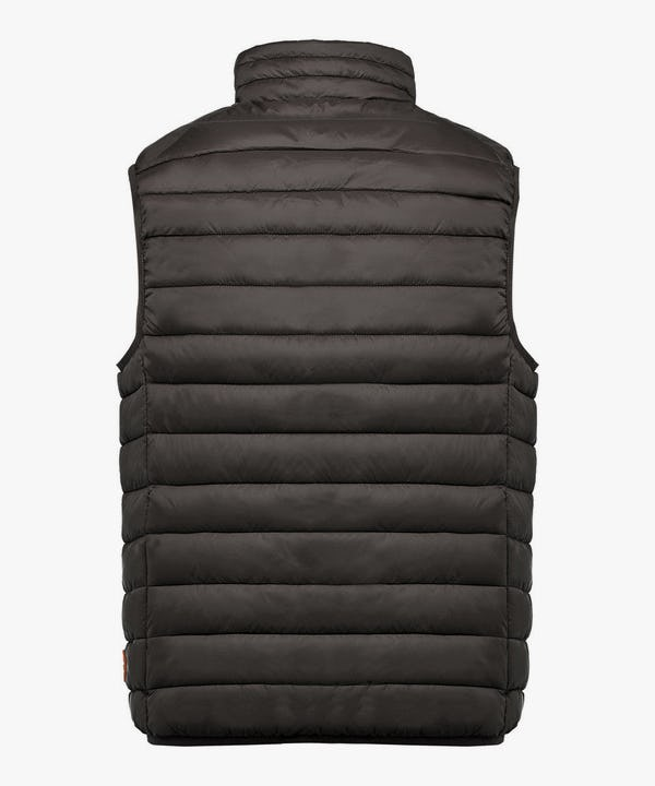 Men's Sleeveless Jacket in Black