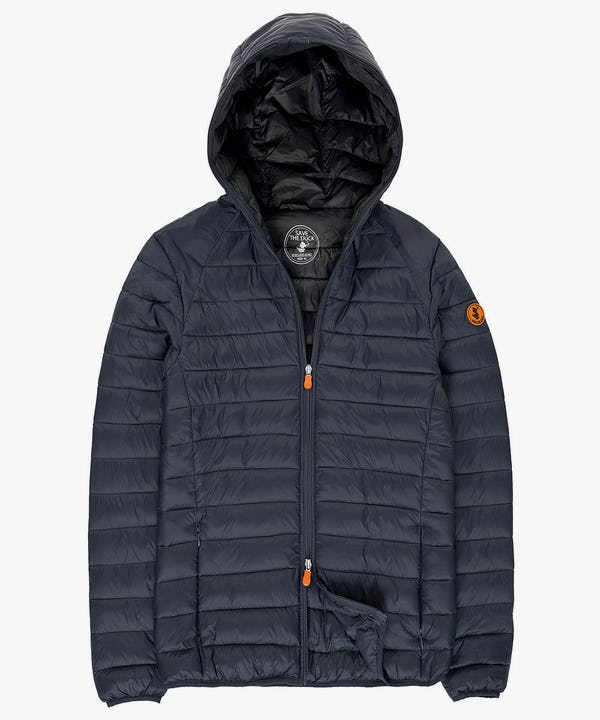 Lightweight Men's Hooded Jacket in Shadow Blue