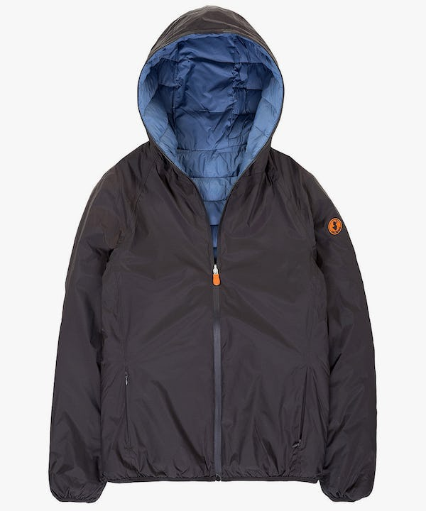 Men's Reversible Jacket in Deep Brown
