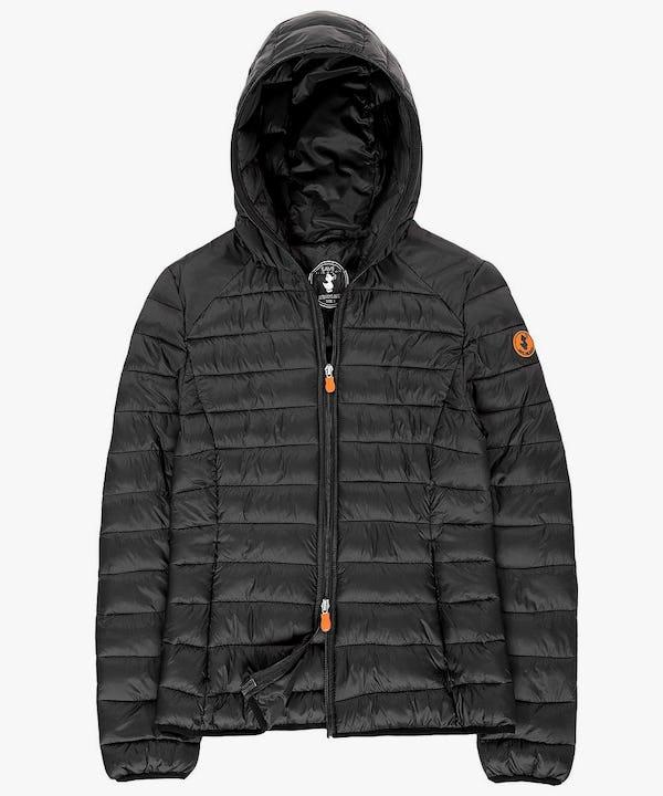 Women's Hooded Jacket in Black