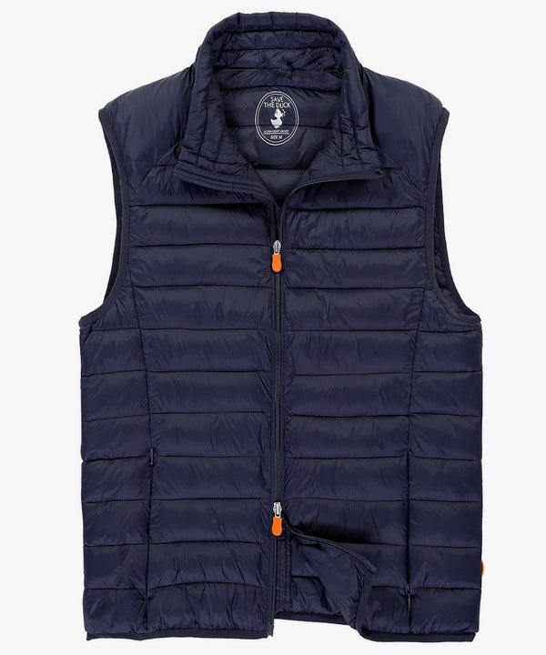 Men's Vest in Navy Blue