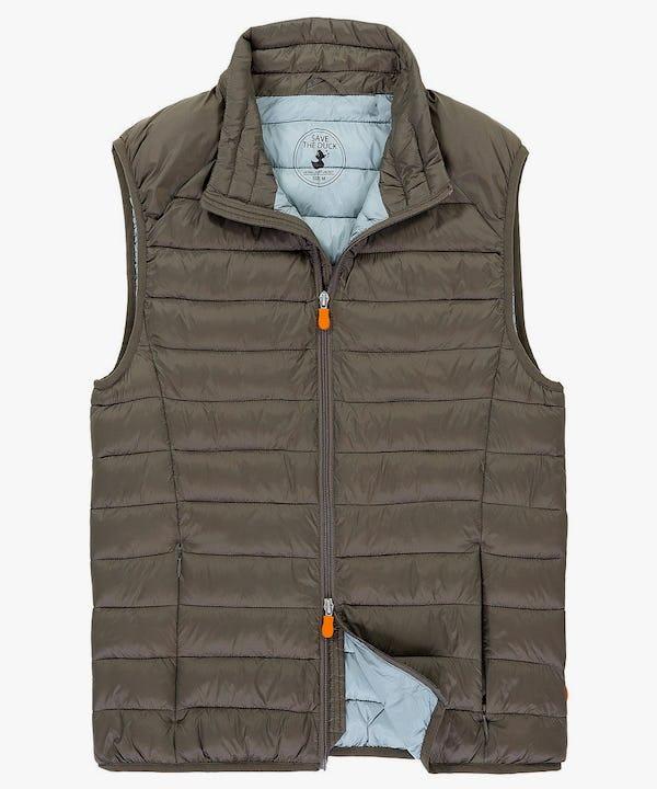 Men's Vest in Turtle Dove
